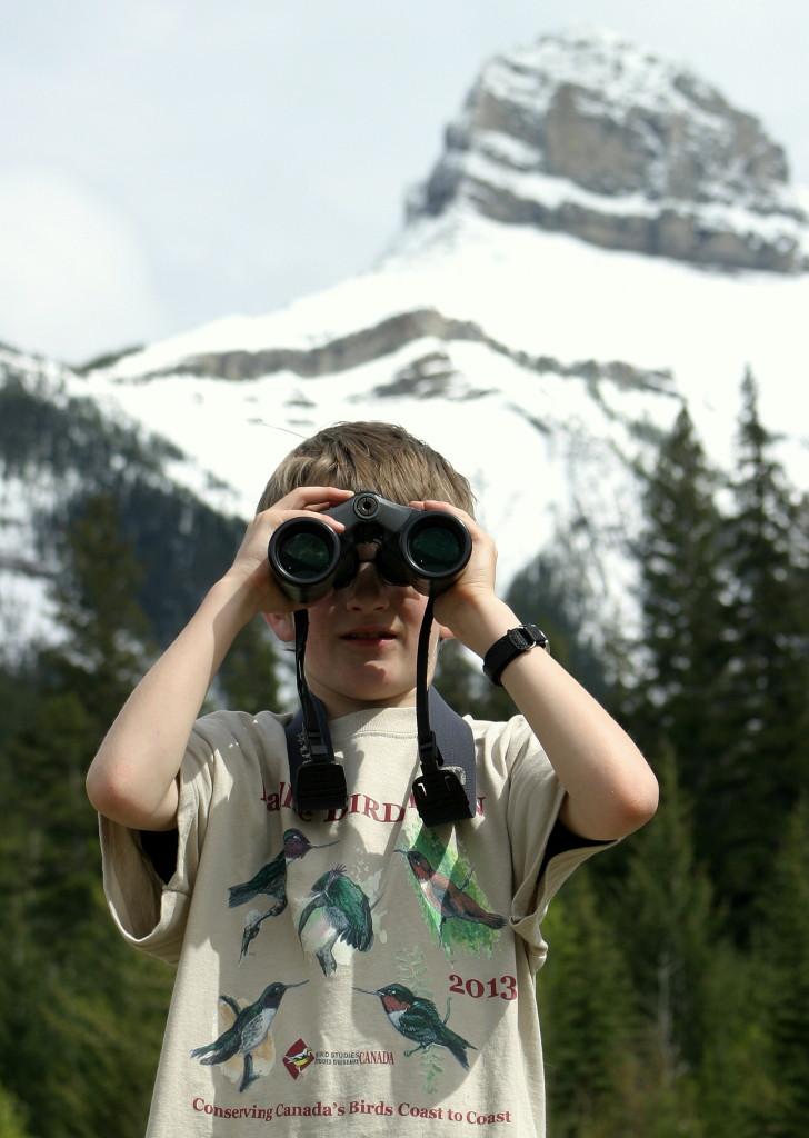 Ethan Baillie Birdwatching