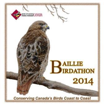 Baillie Birdathon T-Shirt 2014